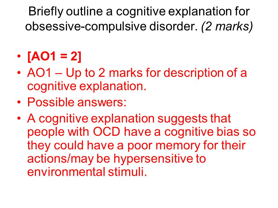 an essay on obsessive compulsive disorder Obsessive-compulsive personality disorder (ocpd) is a personality disorder which is characterized by a pervasive pattern of preoccupation with orderliness, perfectionism, and mental and interpersonal control at the expense of flexibility, openness, and efficiency (taber, 1968.