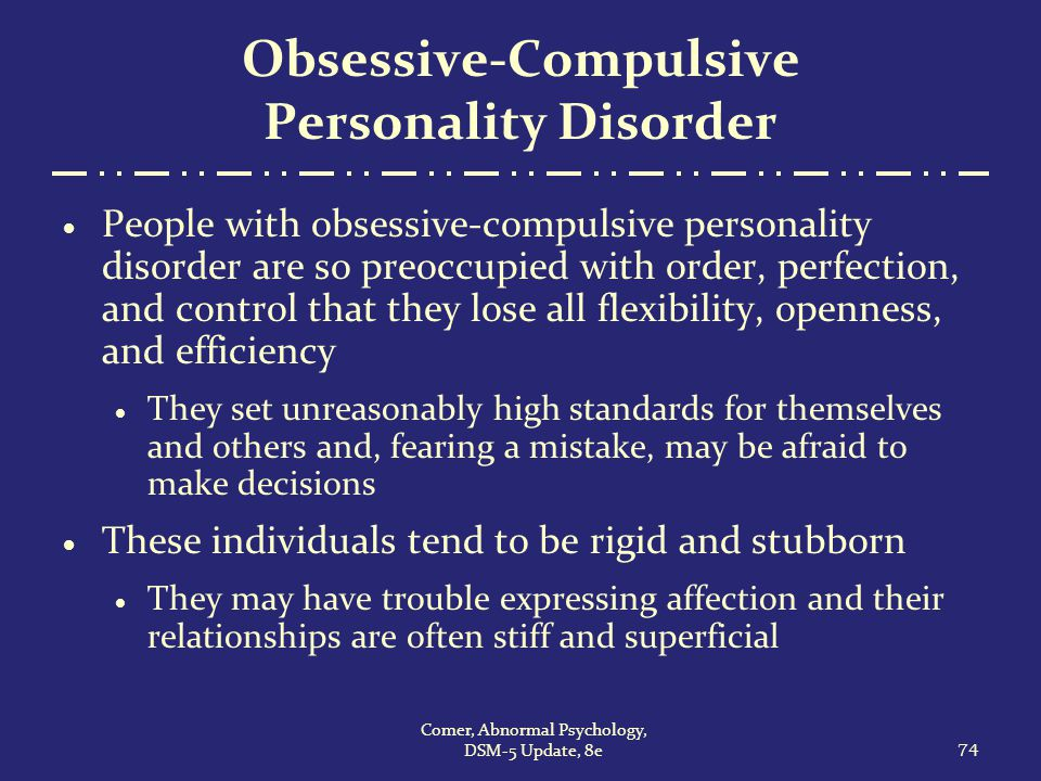 Obsessive-compulsive disorder | definition of obsessive ...