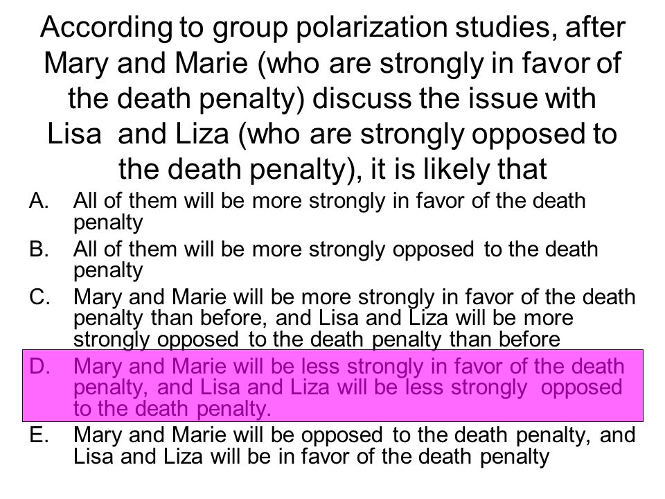 in favor of the death penalty Although there are opposing views to the death penalty, i am in favor of the death penalty because of the retribution, morality, and its deterrence.