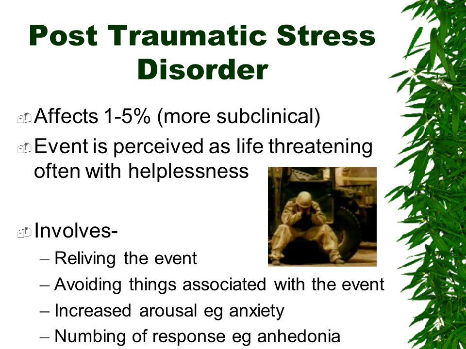post traumatic stress disorder the things In 1980, the apa finally included post-traumatic stress disorder in the third edition of the diagnostic and statistical manual of mental disorders.