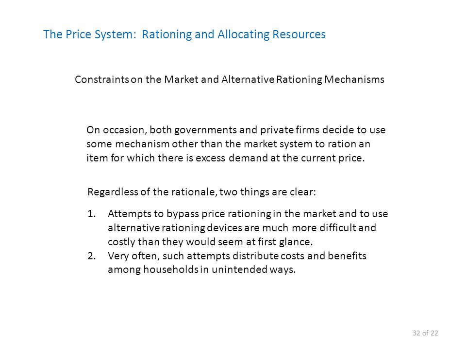 advantages of using markets to allocate resources 181 how markets and prices allocate resources  advantages of the price mechanism the price mechanism gives an indication to firms of what goods and services to .