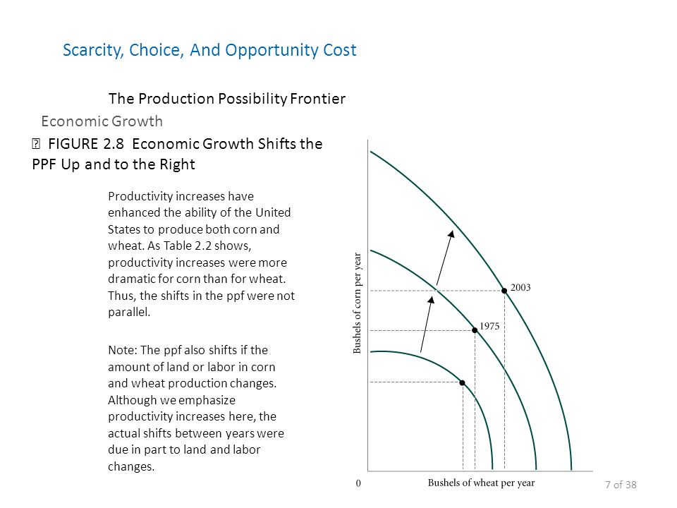 show the relationship between scarcity choice and opportunity cost