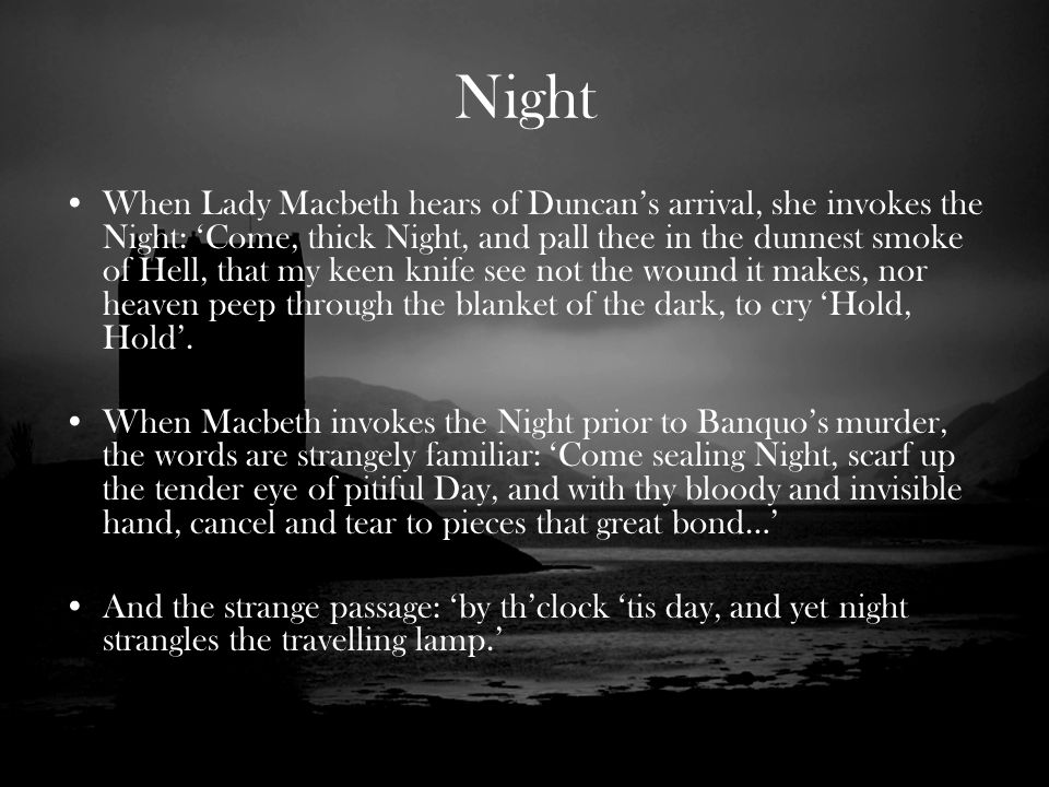 Darkness In Macbeth Quotes