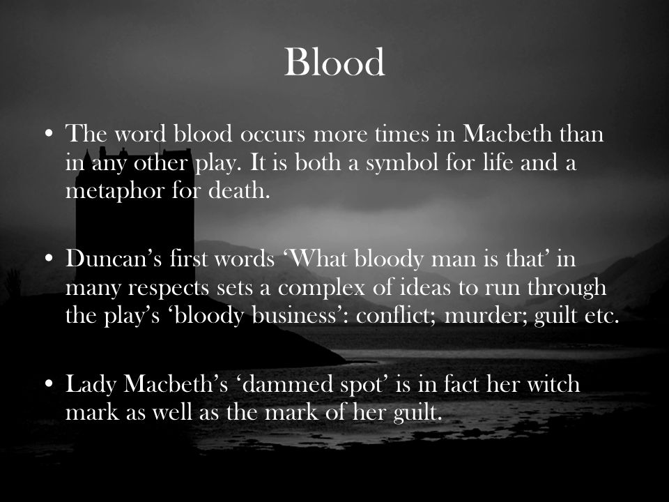 lady macbeth blood quotes