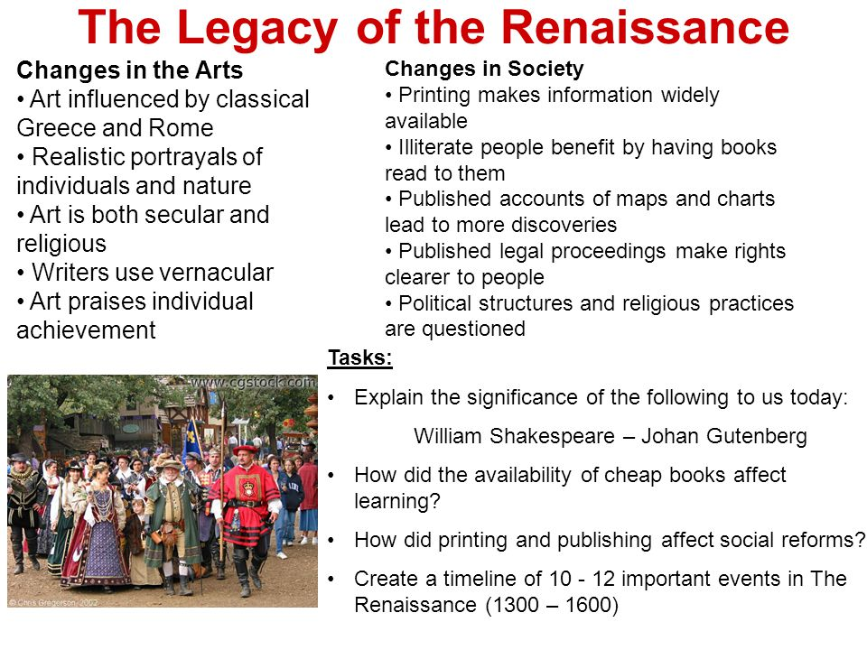 the significant changes during the renaissance and the reformation period Renaissance humanism, a force to contend with in the fourteenth and fifteenth centuries, was an important part of the background its emphasis on both new and ancient languages, as well as the recovery of classical and early christian sources, produced a serious challenge to the roman catholic concept of christendom and introduced a spirit of fresh inquiry and independent thought.