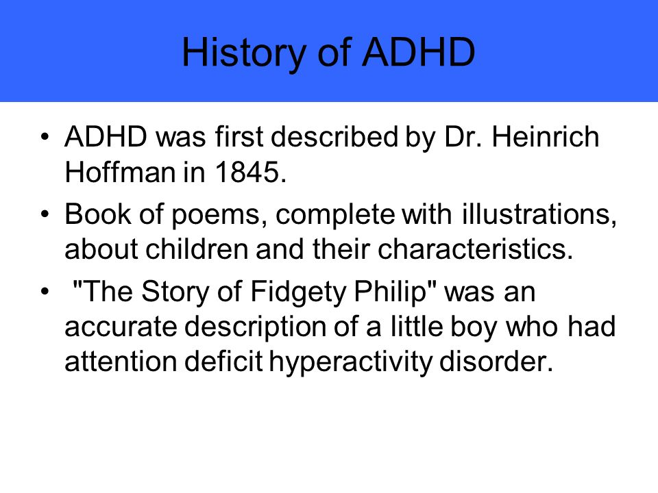 Attention Deficit Hyperactivity Disorder Research Paper