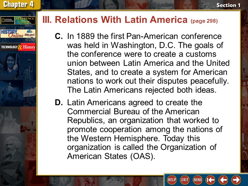 an overview of the relation between latin america and the united states Had greg weeks' new text on us and latin american relations not also come   political science, history, and latin american studies—particularly those with a.