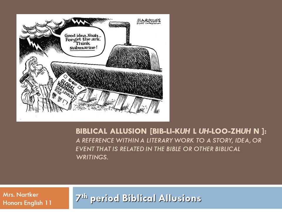 7th period biblical allusions ppt download