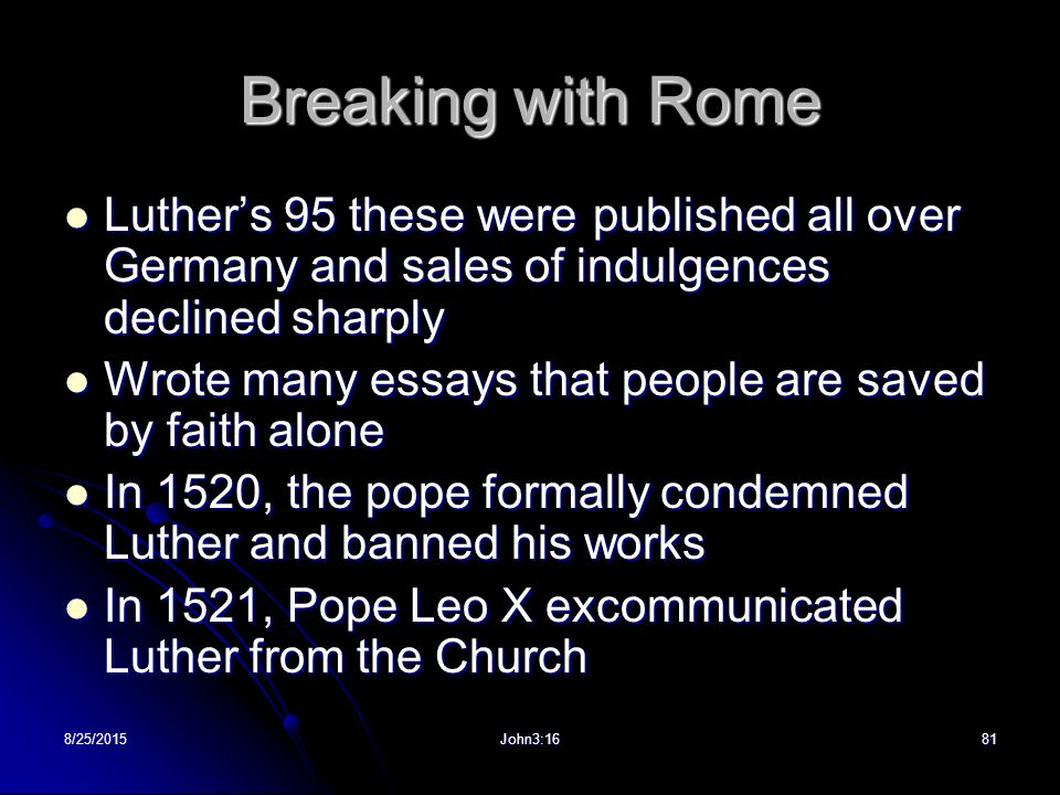 german in essay luther composed Music history i – martin luther, the german reformation, and their impact on sacred music posted december 13th, 2009 by william johnston & filed under uncategorized martin luther.