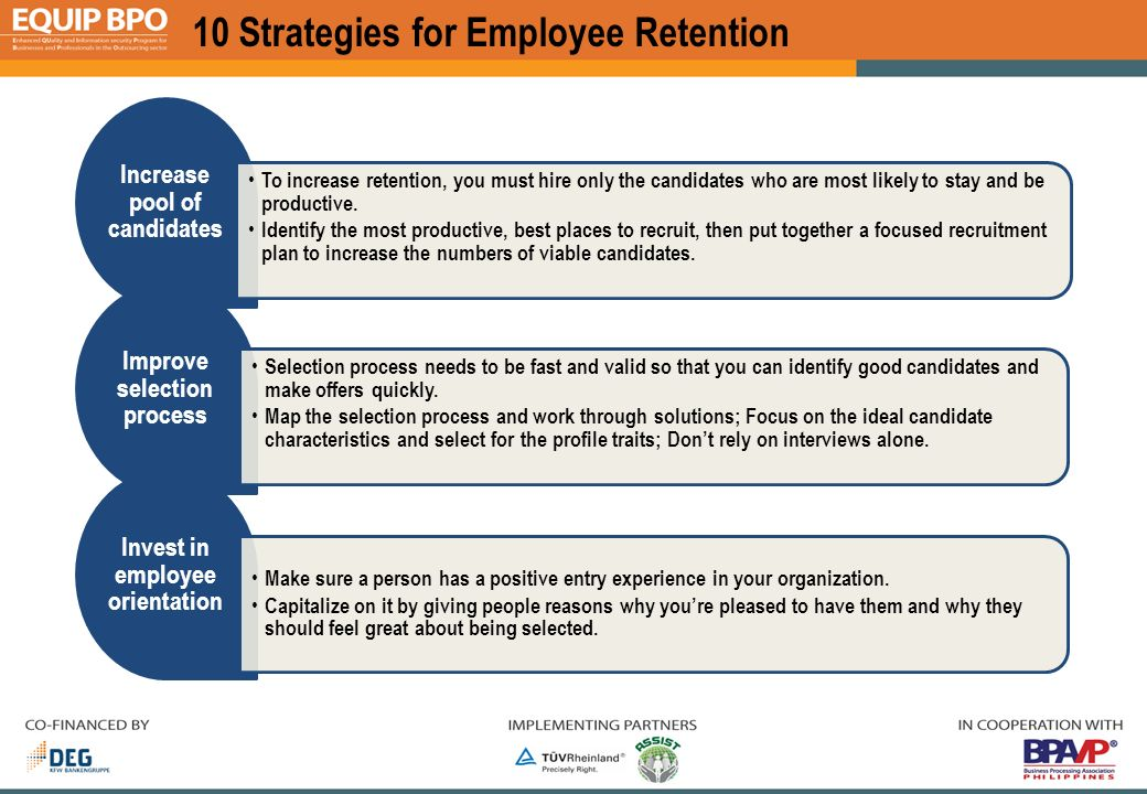Employee options strategies
