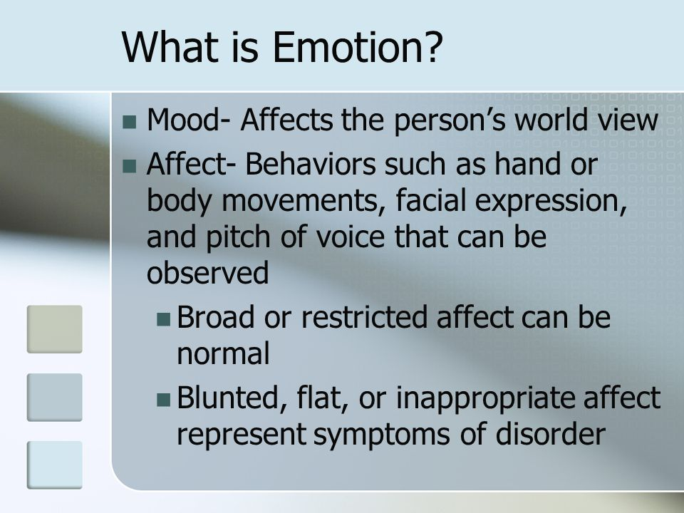 how the emotion affects the person essay Effects of weather on human emotions  the first and most well known way in which weather affects mood is  (though this varies slightly from person.