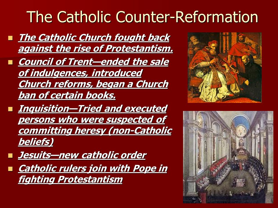 essays catholic counter reformation Write a 1,250-1,500-word essay in which you evaluate the distinct character and quality of each of the expressions of the protestant reformation (lutheran, reformed, anabaptist, english, and puritan), as well as the catholic reformation (counter-reformation.