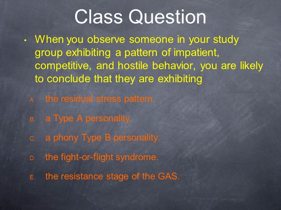 Class Question