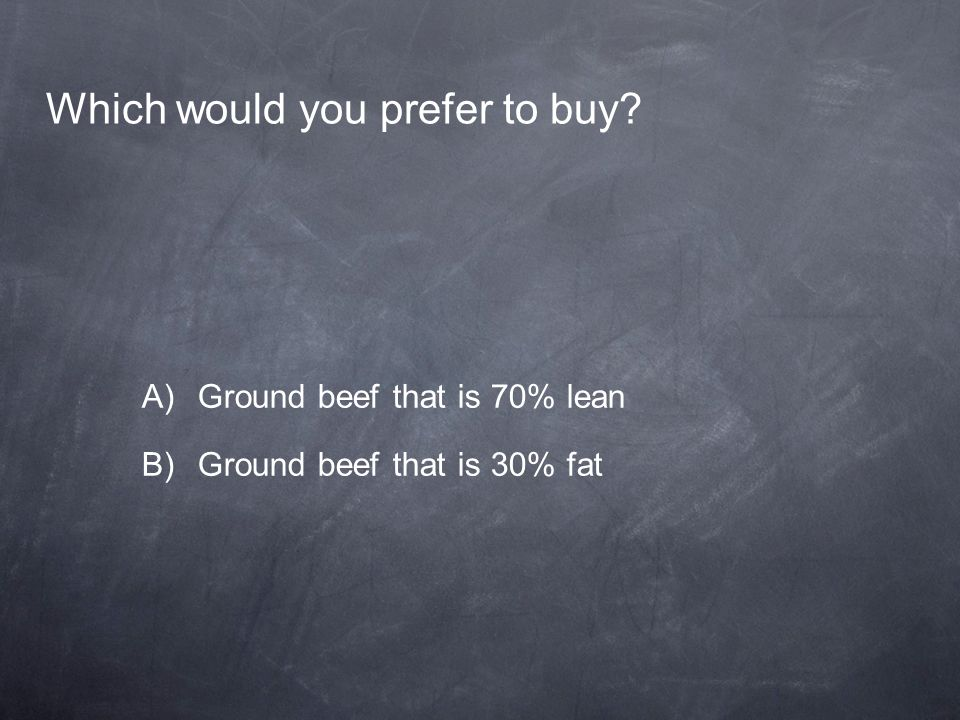 Which would you prefer to buy