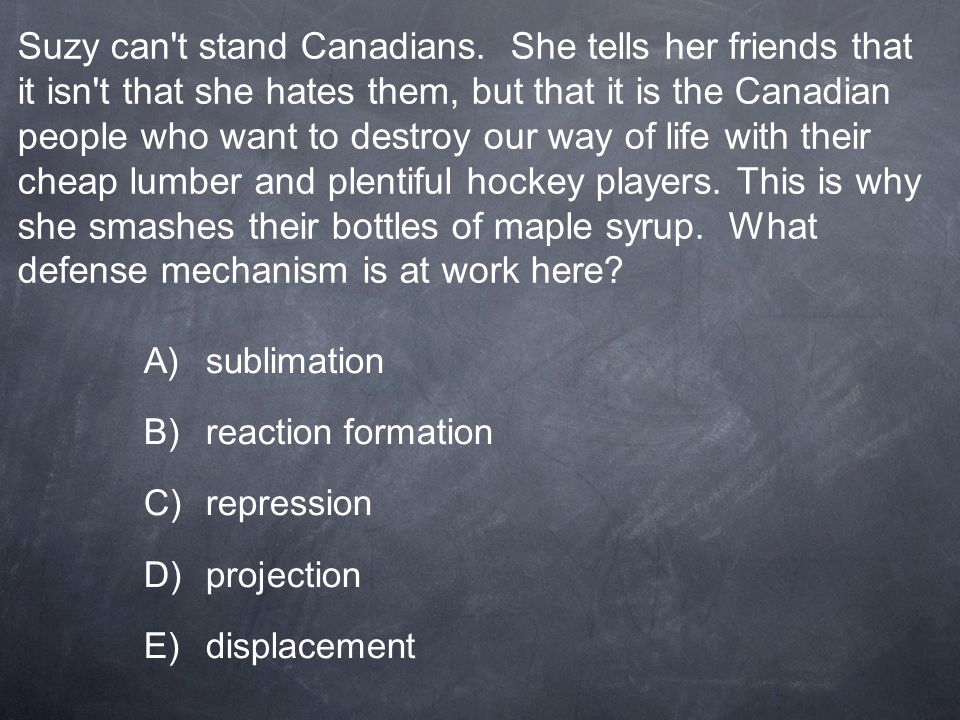 Suzy can t stand Canadians