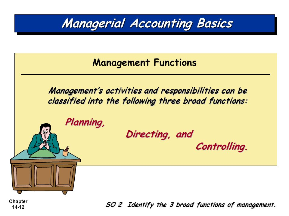 accounting management function Management accounting uses much of the same processes but utilizes information in different ways namely, in management accounting.