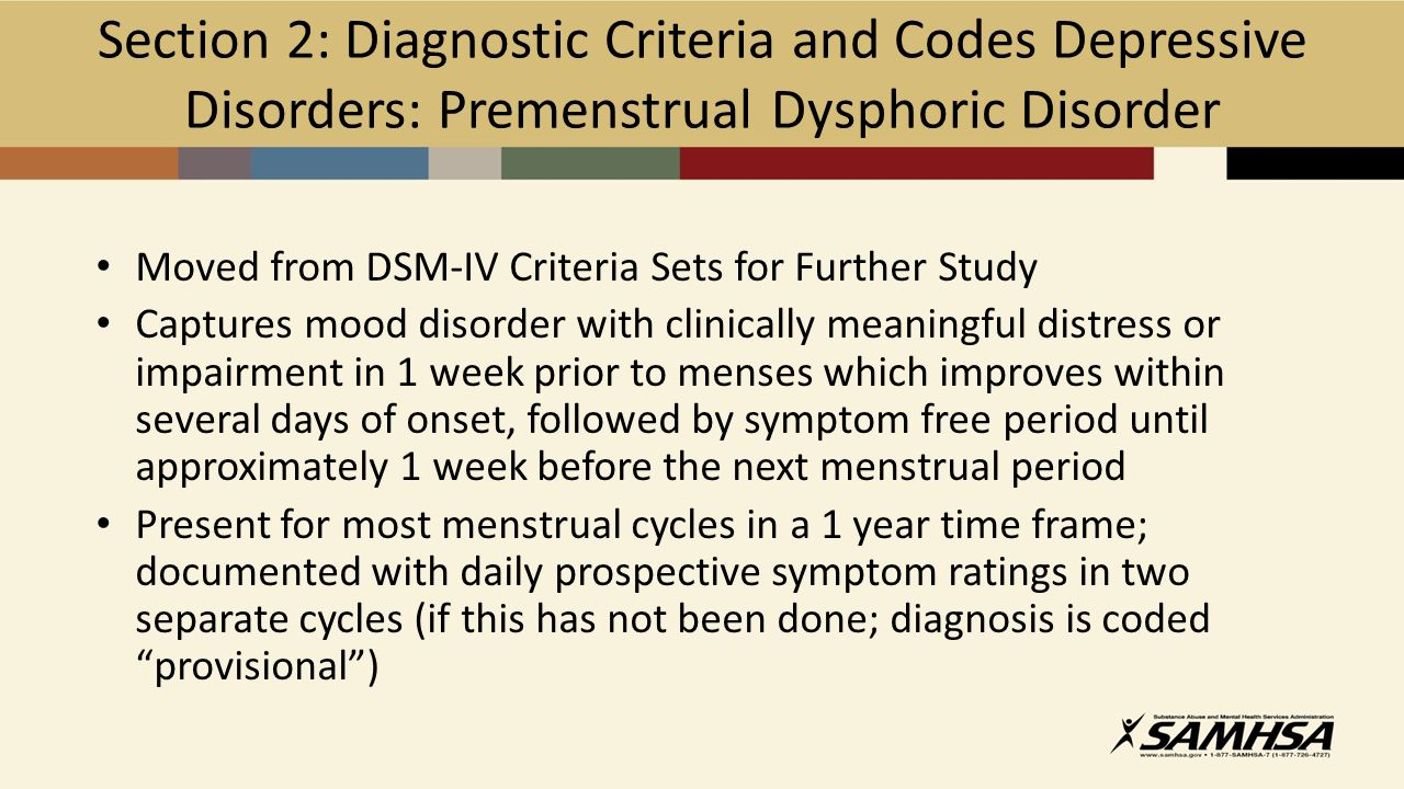 26 Depressive Disorders Bereavement Exclusion In Dsm Iv