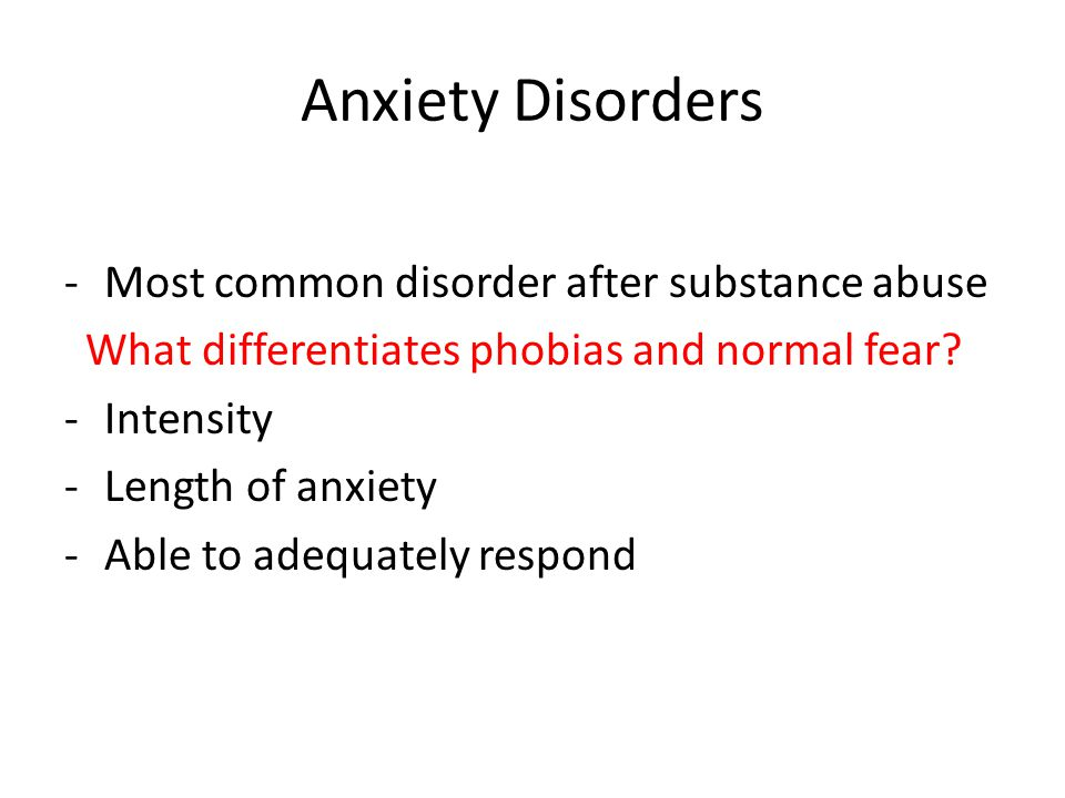 alcohol dependence and anxiety disorders what is the relationship