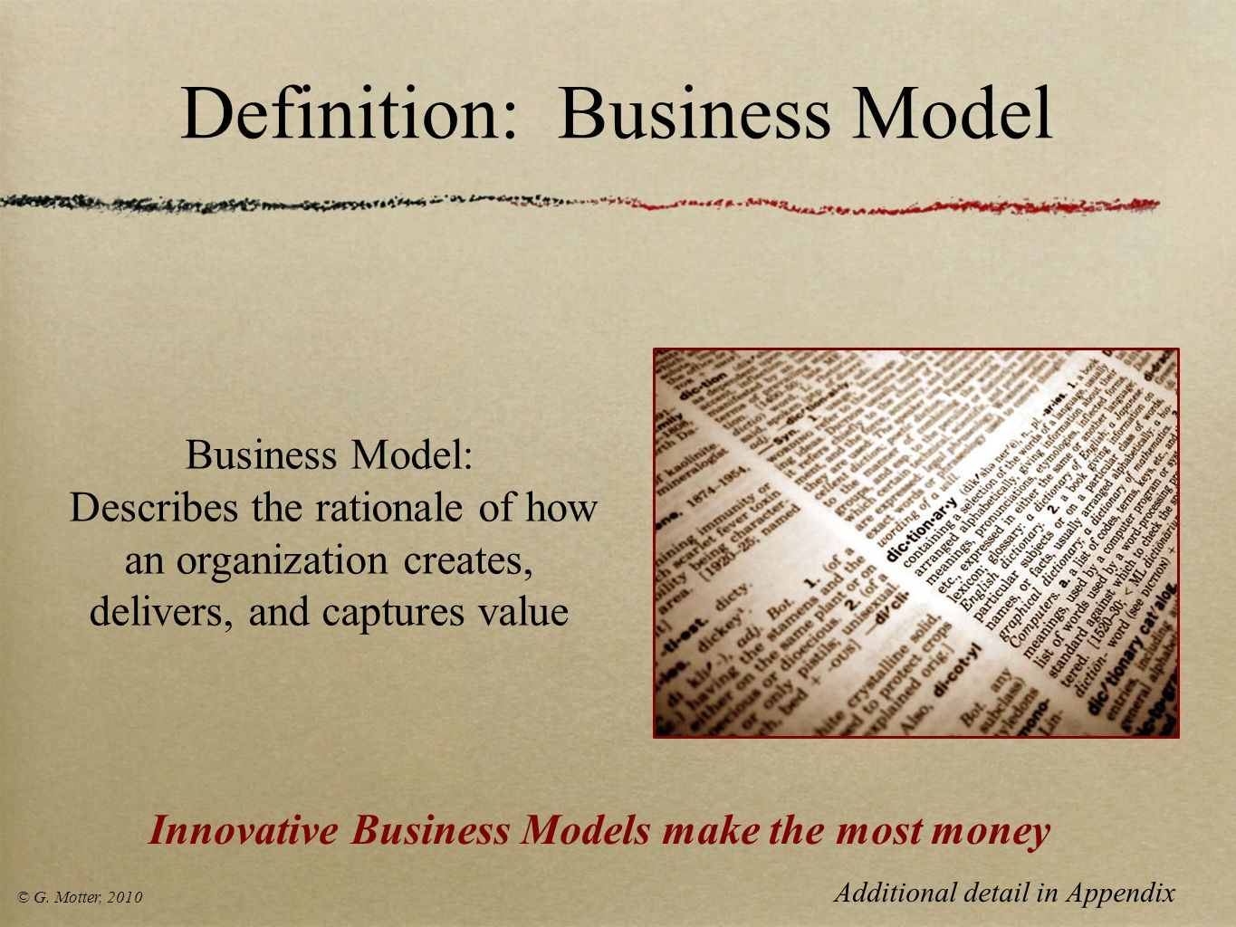 Definition: Business Model