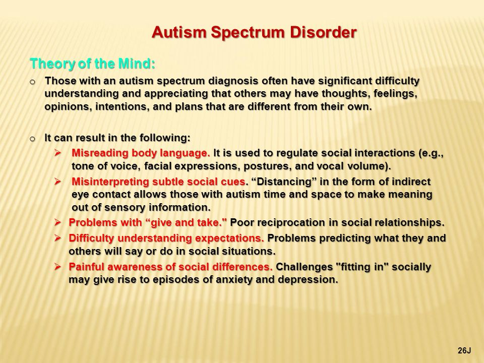 an overview of autism spectrum disorder Autism spectrum disorder is a serious condition related to brain development that impairs the ability to communicate overview of management.
