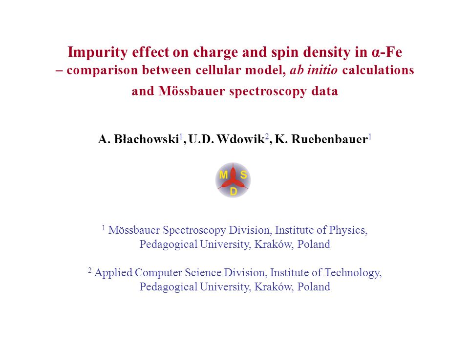 Impurity effect on charge and spin density in α-Fe