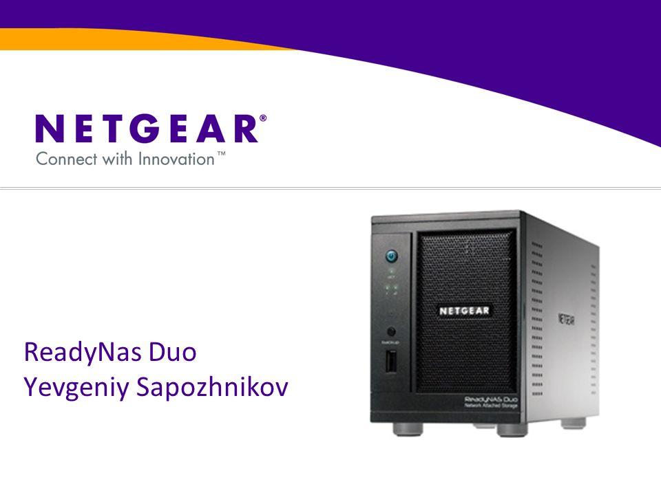 ReadyNas Duo Yevgeniy Sapozhnikov