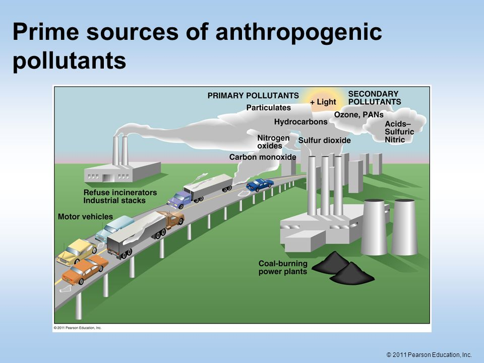 the anthropogenic effects of pollutants The effects of recent control policies on trends in emissions of anthropogenic atmospheric pollutants and co2 in china y zhao1, j zhang2, and c p nielsen3.