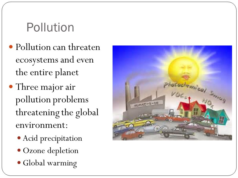 Air pollution causes problems and solutions in | Homework