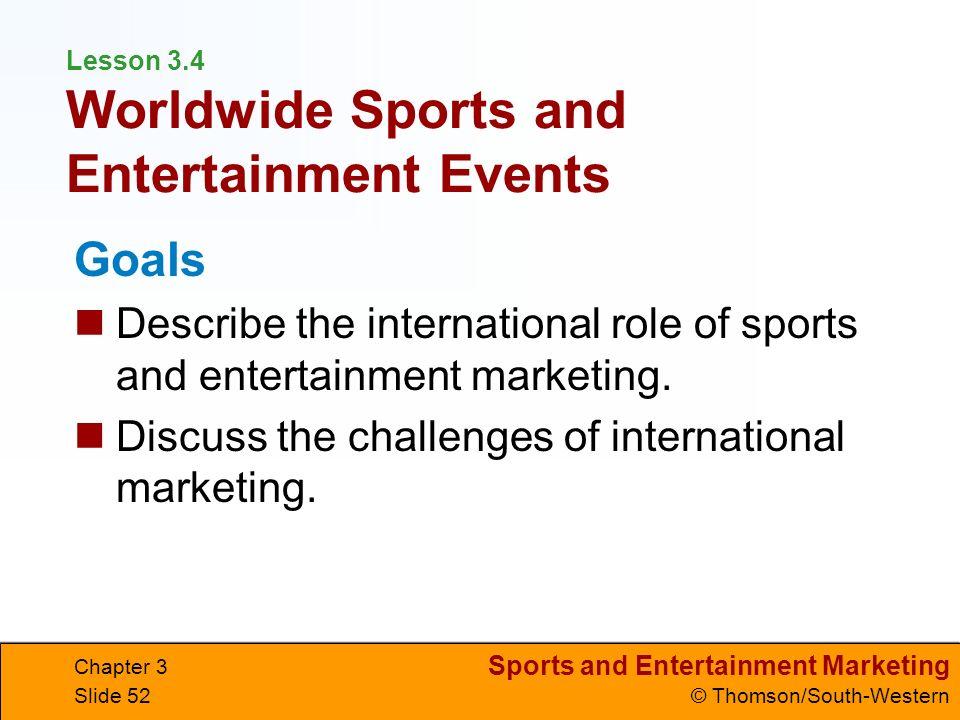 international sport marketing International sport business strategy sport marketing sport economics and  finance international sport law sport media and communication sport  tourism.