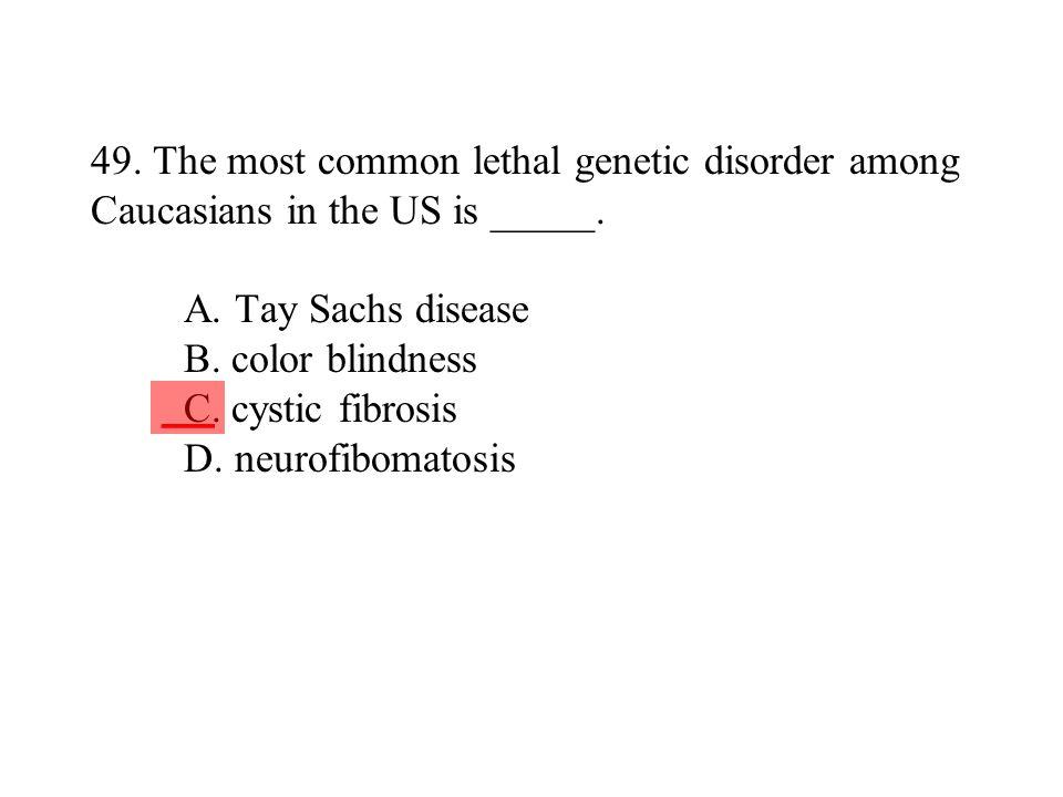 32 49 - Cystic Fibrosis Color