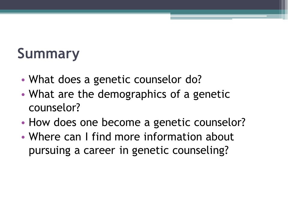 what does a geneticist do What does a geneticist do by cindy grigg 1 scientists who study genetics study genes and heredity: how certain characteristics are inherited by offspring because .