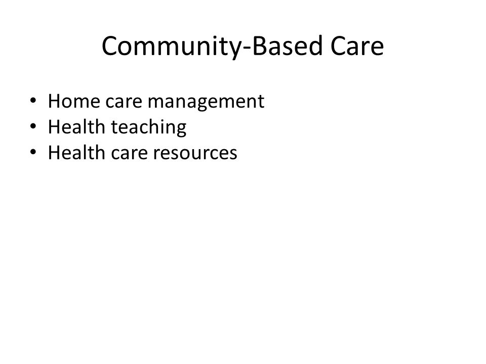 the community based education nursing essay Nursing research and practice is a peer-reviewed, open access journal that publishes original research articles, review articles, and clinical studies in all areas of nursing and midwifery the journal focuses on sharing data and information to support evidence-based practice.