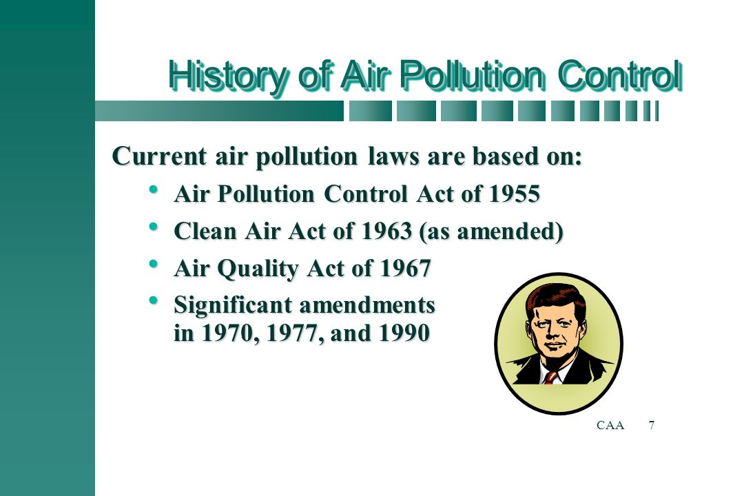 history of air law Clean indoor air act  going strong, a public health success story (july 2013) ( pdf) a guide to the new york state clean indoor air act (revised may 2018).