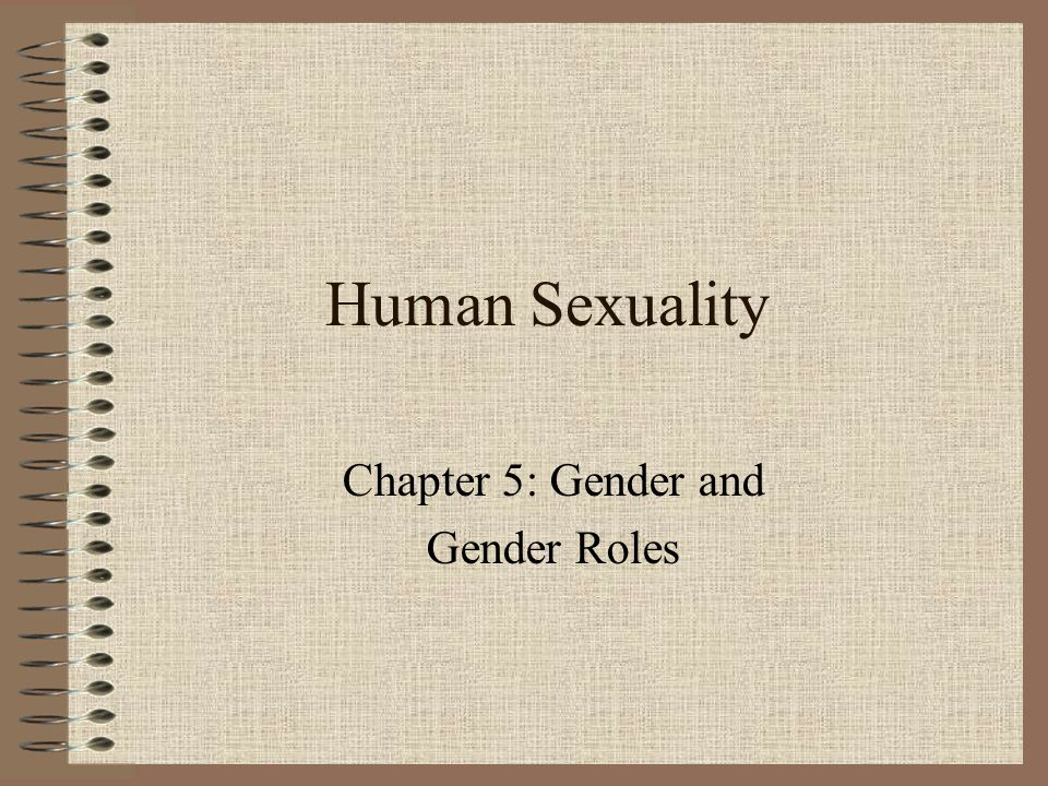 Gender and sex roles