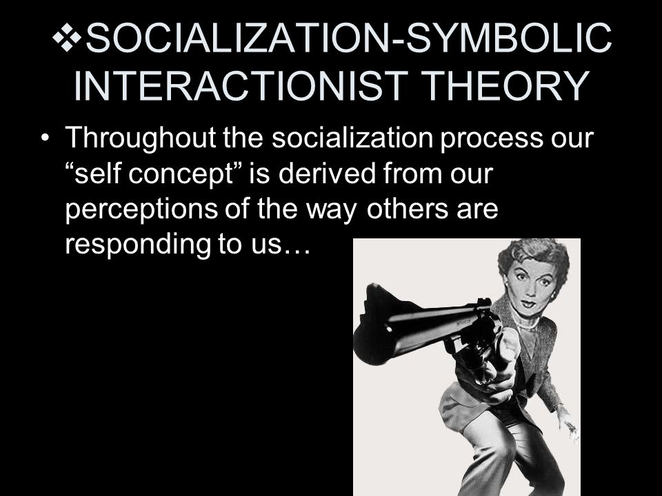 SOCIALIZATION-SYMBOLIC INTERACTIONIST THEORY