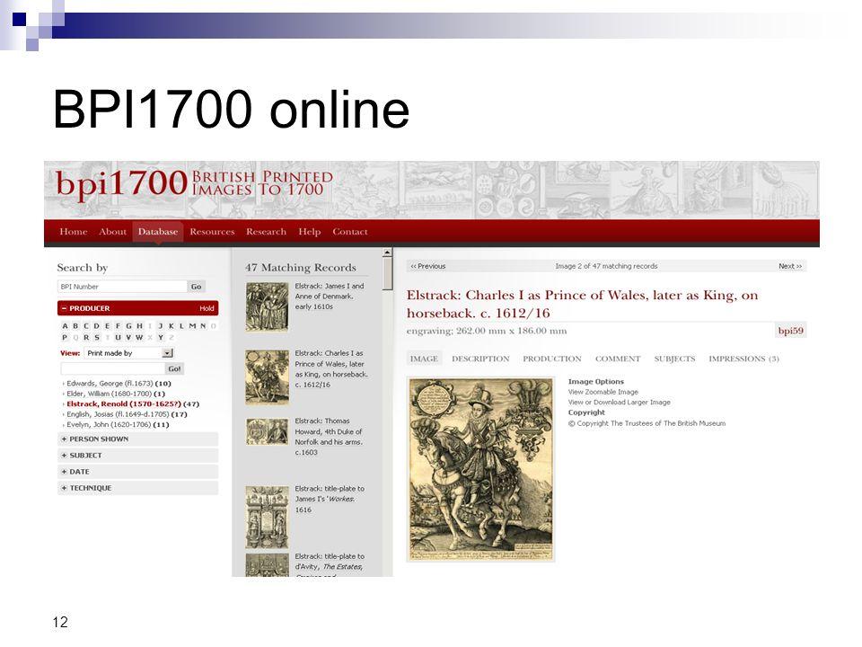 BPI1700 online