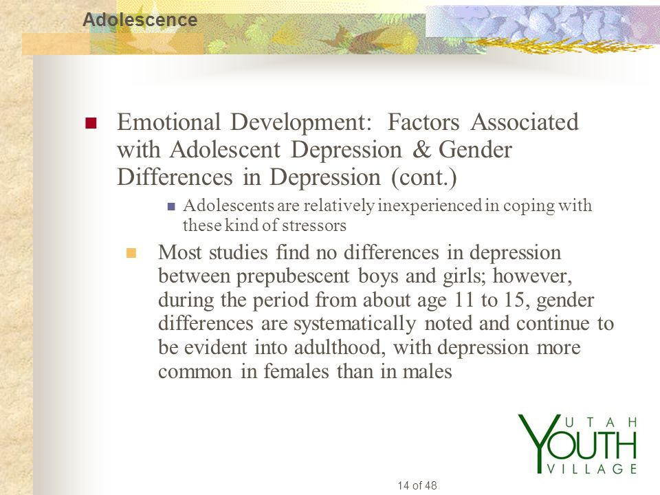 gender differences in depression Gender issues in diagnosing depression arise due to physician bias and patient reporting bias physicans have biases about gendered behaviour based on their own experiences-- this can affect how they make diagnostic decisions.