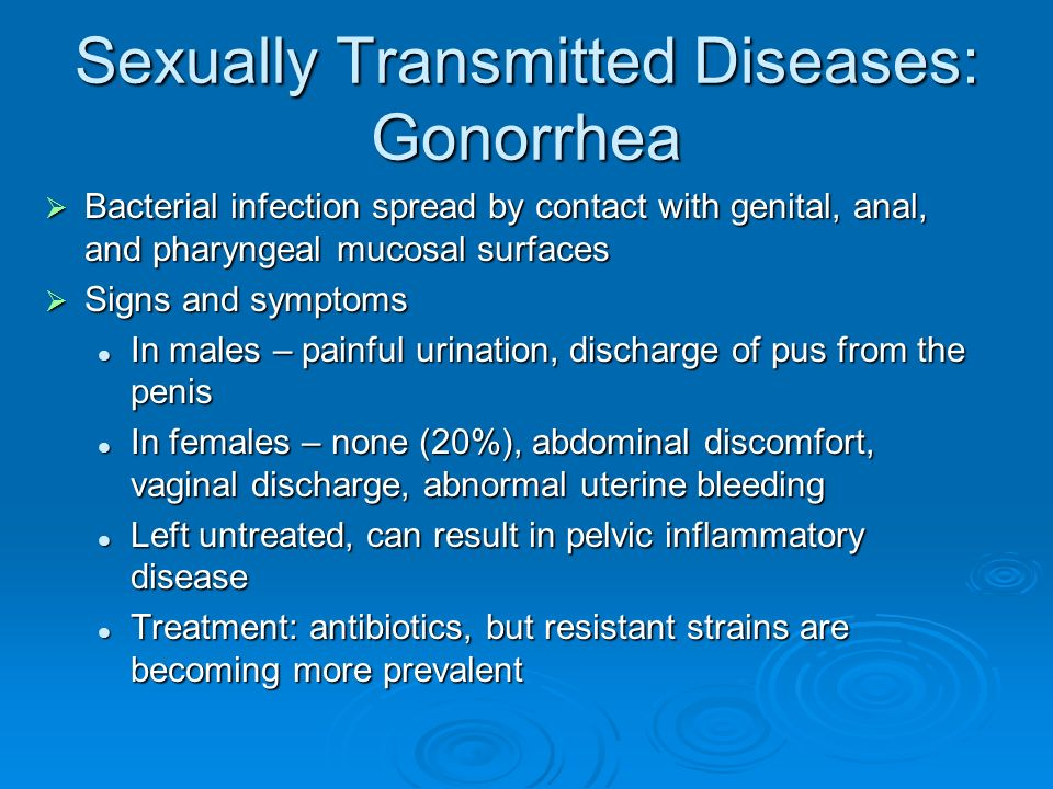 Sexually Transmitted Diseases Treatment Guidelines, 2015