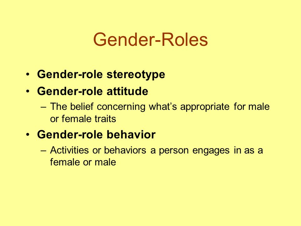 gender stereotypical attitudes past essay Gender roles in the media 3  gender age students held negative stereotypical beliefs and attitudes about female relationships and.