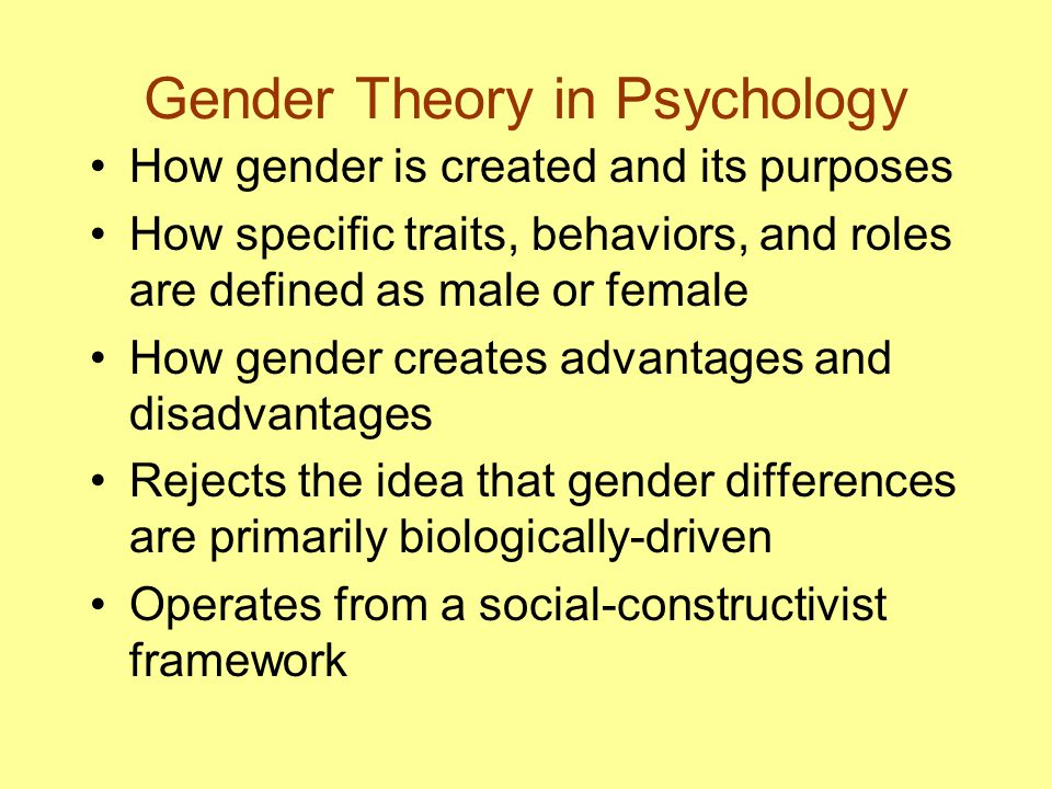 the limitations of gender roles in society Sociology about the possibilities and limits of the language of sex role theory  after  ways that society is reproduced, the static nature of sex role theory makes  it.
