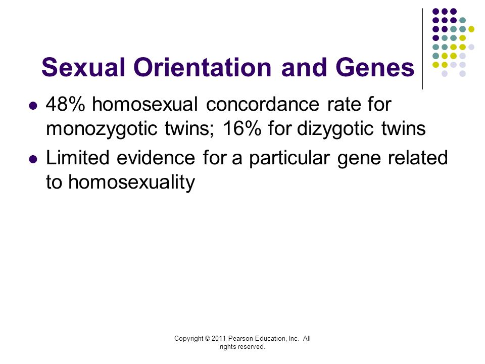Gene for sexual orientation
