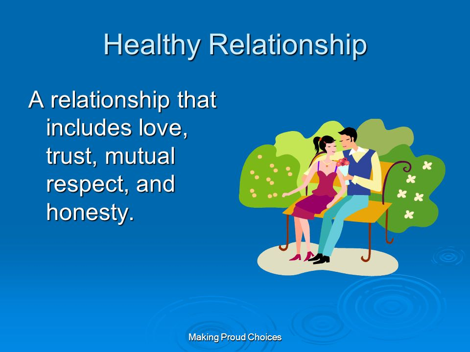 healthy dating includes Chapter 5 5 building health healthy sexuality includes which type of behavior with one's partner kathy and brian have been dating for two months.
