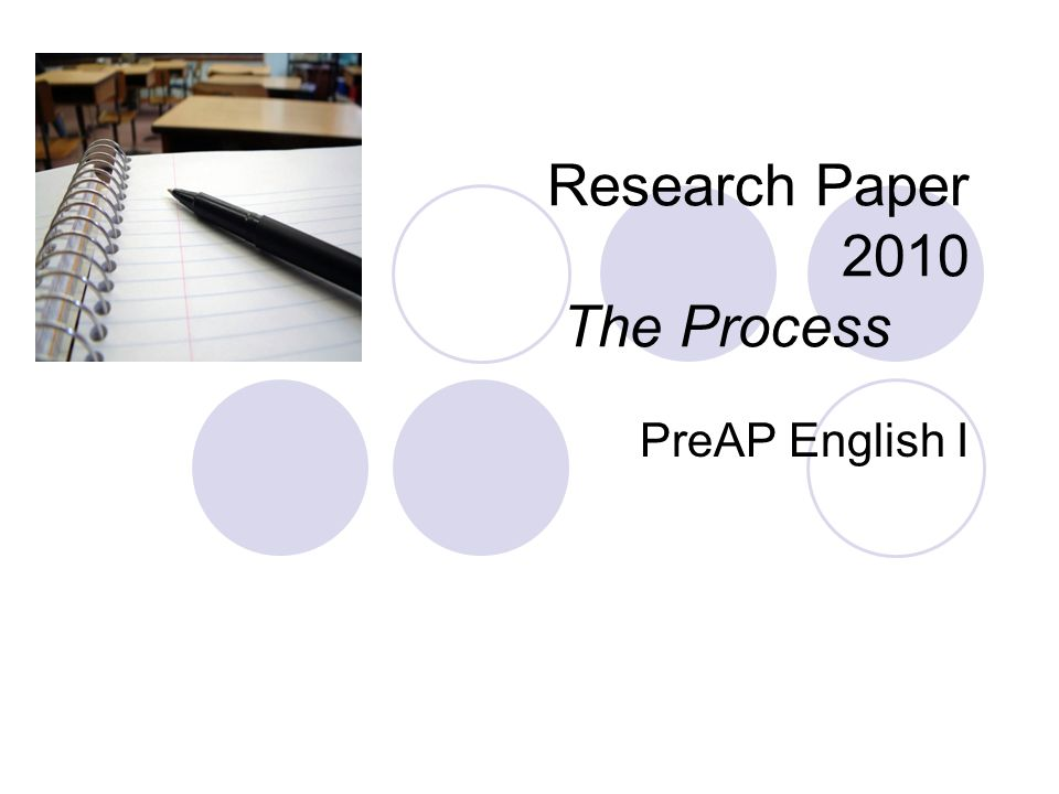 the research paper process Steps in writing a research paper   the research writing steps that we offer represent a general, ideal, movement through the research writing process.