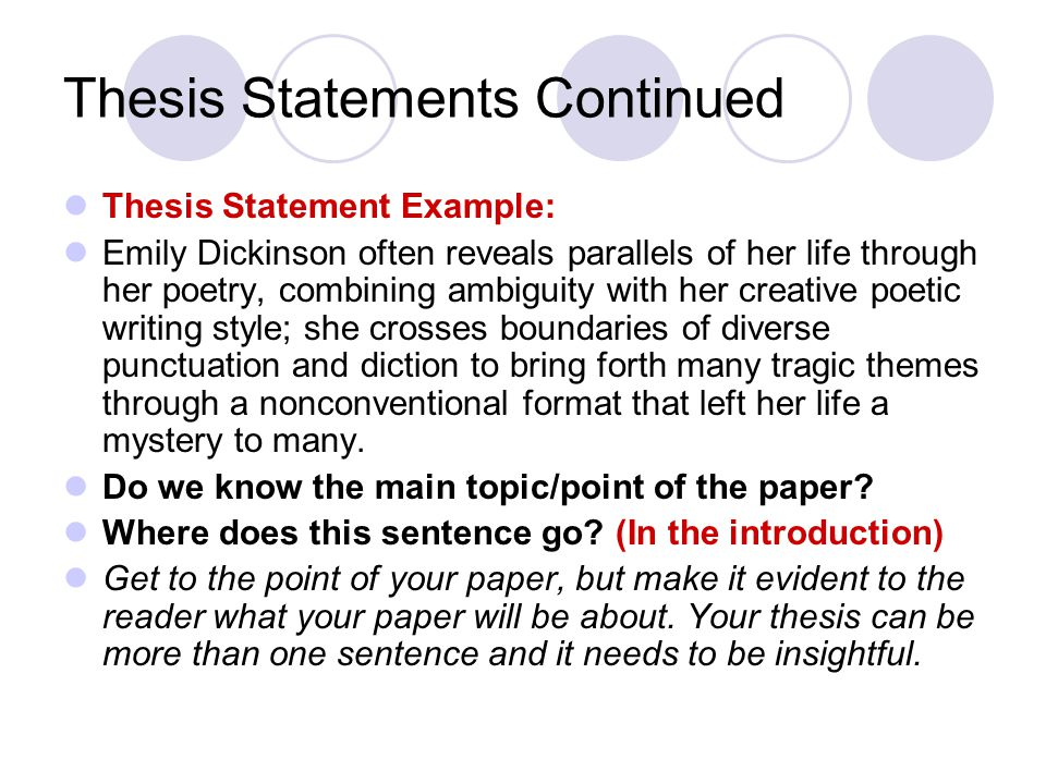 a thesis statement on emily dickinson Click here click here click here click here click here thesis statement emily dickinsons poems what is a good thesis statement for.
