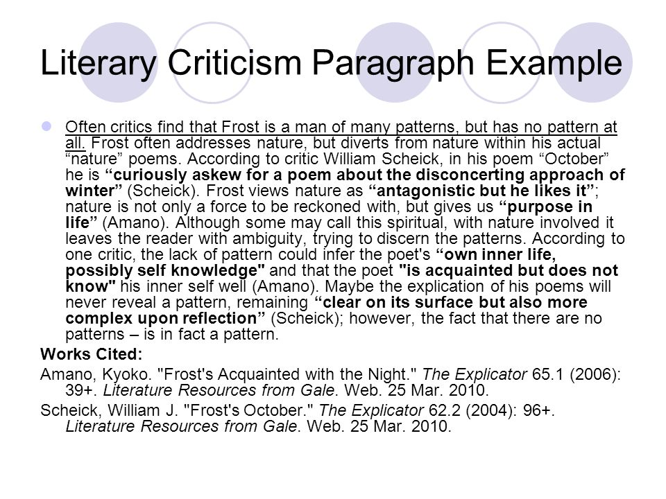 """literary criticism we call them greasers essay For understanding literary criticism, we first need to drive home the a work of literature"""" the literary criticism is that are good for them are."""