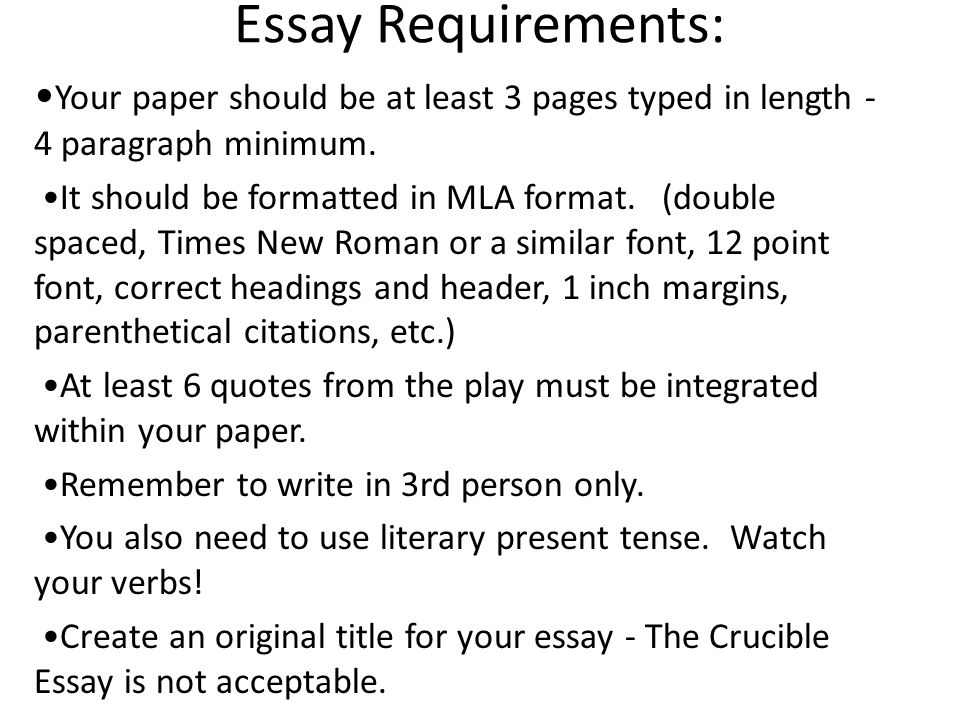 journal topics for the crucible essay The crucible - long essay - the crucible q how is language used in the crucible to express the emotional intensity if characters in essay topics.