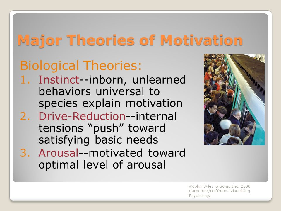 motivation theory explaining tourist behavior In other words, the basic needs/motives are linked to behavior through a theory of motivation which asserts that (i) motivation-need theories are reviewed.