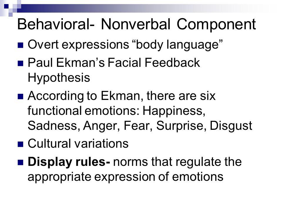 301w paper2 facial feedback hypothesis 11 Facial feedback kendra verlingo 301w paper2 facial feedback hypothesis 11 facial feedback hypothesis: individual differences in.