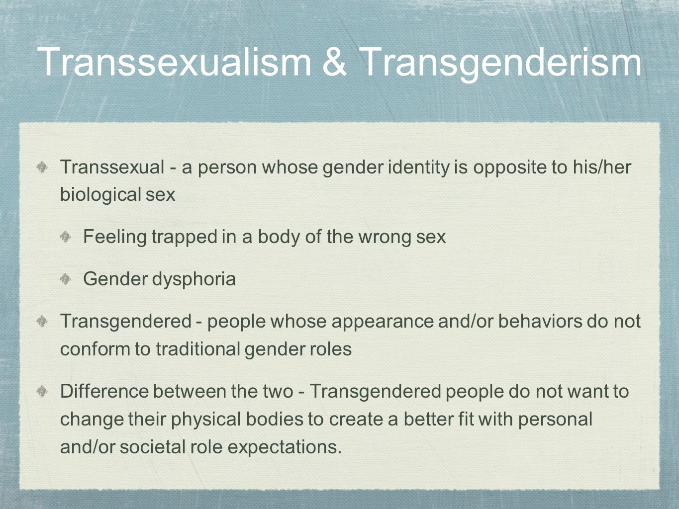 from Kole physical correlates with transsexual transgender gender dysphoria