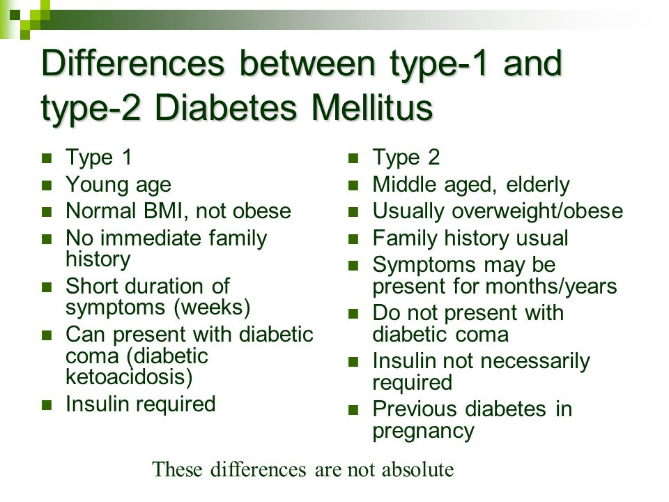 a brief look at diabetes mellitus type 1 A comprehensive overview of type 1 diabetes, everything you need to  with that  commitment, most people can look forward to full and active lives  short acting  (within 45-75 minutes), intermediate acting, long-acting and.